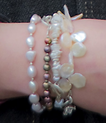 Selection Of Pearl Bracelets